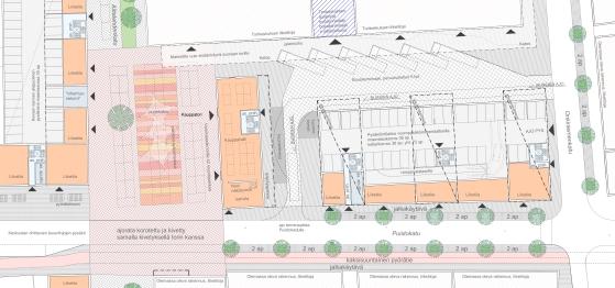 Main square plan
