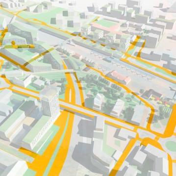 Pedestrian network